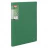 Teczka Clear Book A4, 30 koszulek zielona